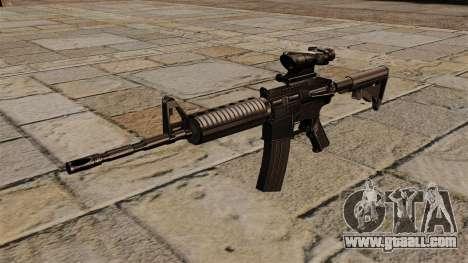 Automatic carbine M4A1 ACOG for GTA 4