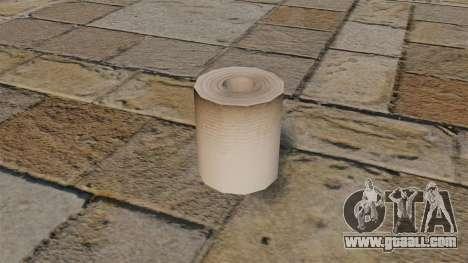 Toilet paper for GTA 4