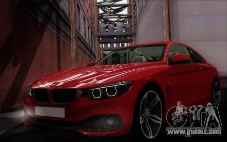 BMW 435i for GTA San Andreas