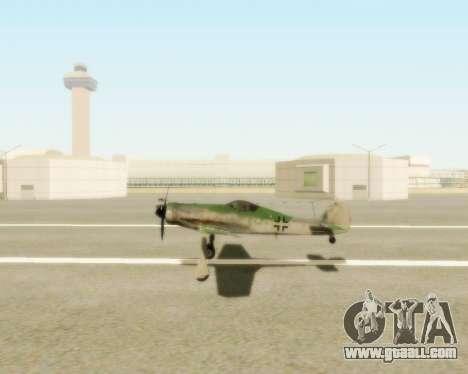 Focke-Wulf FW-190 D12 for GTA San Andreas right view