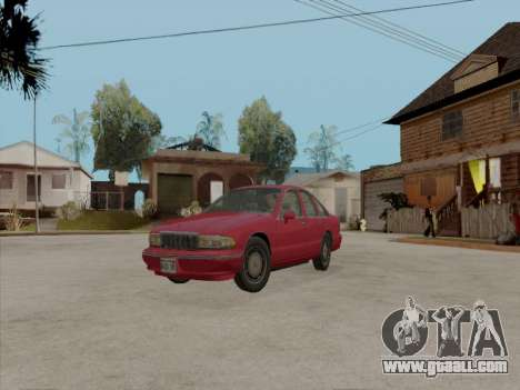 Chevrolet Caprice 1991 for GTA San Andreas
