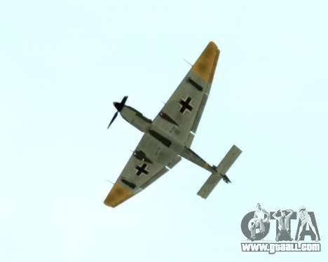 Junkers Ju-87 Stuka for GTA San Andreas back view