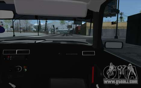 VAZ 2107 for GTA San Andreas wheels