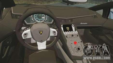 Lamborghini Aventador LP760-4 Oakley Edition v2 for GTA 4 inner view