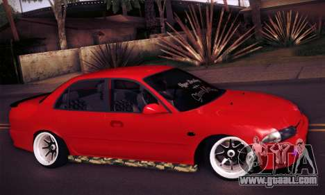 Proton Wira Hype for GTA San Andreas right view