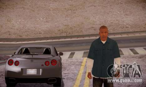 Franklin for GTA San Andreas fifth screenshot