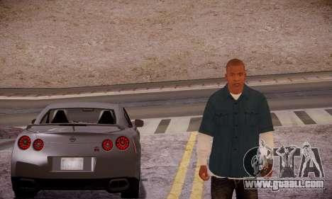 Franklin for GTA San Andreas fifth screenshot