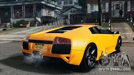 Lamborghini Murcielago LP640 2007 [EPM] for GTA 4 back left view