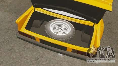 Opel Manta for GTA 4 inner view