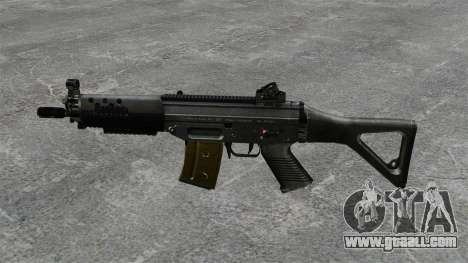 Assault rifle SIG SG 552 for GTA 4 third screenshot