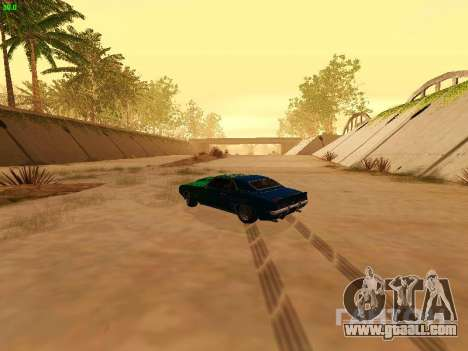 Chevrolet Camaro z28 Falken edition for GTA San Andreas inner view
