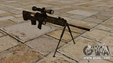 QBU-88 sniper rifle for GTA 4