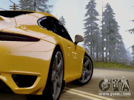RUF RGT-8 for GTA San Andreas back view