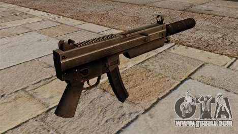 The MP5 submachine gun with silencer for GTA 4 second screenshot