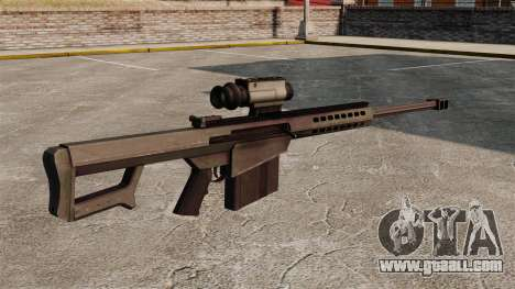 Barrett M107 sniper rifle for GTA 4 second screenshot