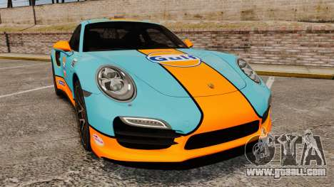 Porsche 911 Turbo 2014 [EPM] Gulf for GTA 4