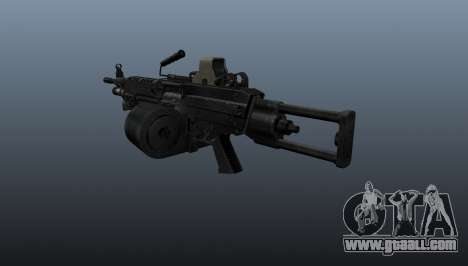 The M249 light machine gun for GTA 4 second screenshot