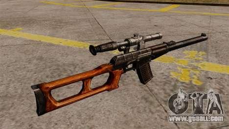 VSS Vintorez sniper rifle for GTA 4 second screenshot