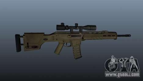 Automatic rifle Magpul Masada for GTA 4 third screenshot