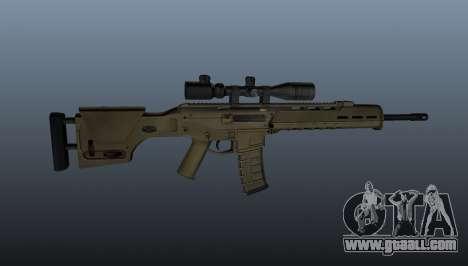 Automatic rifle Magpul Masada for GTA 4 third screenshot