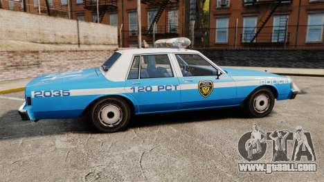 Chevrolet Caprice 1987 LCPD for GTA 4 left view