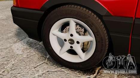 Volkswagen Passat B3 1995 for GTA 4 back view