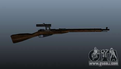 Mosin-Nagant for GTA 4 third screenshot