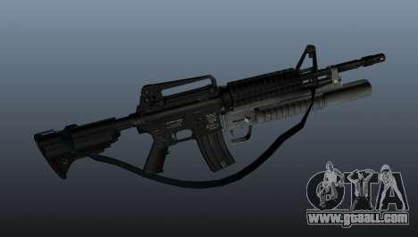 Automatic carbine M4A1 v1 for GTA 4 third screenshot