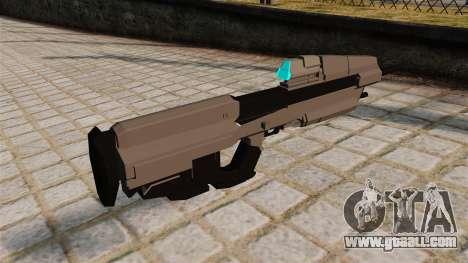 The Halo assault rifle for GTA 4 second screenshot