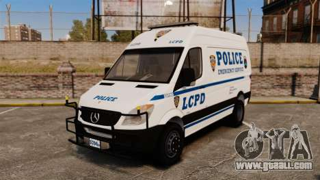 Mercedes-Benz Sprinter 3500 Emergency Response for GTA 4