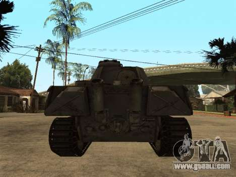 Pzkfpw V Panther for GTA San Andreas right view