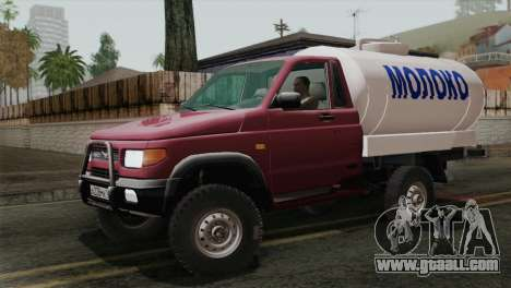 UAZ-2360 Milk for GTA San Andreas