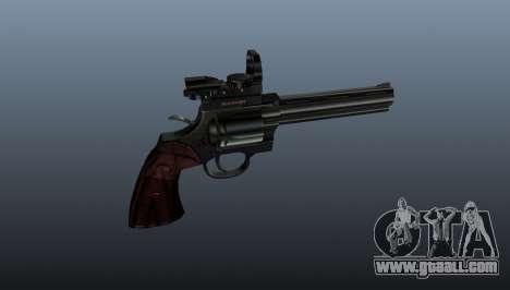 Revolver Colt Python 357 Aimshot for GTA 4 third screenshot
