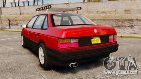 Volkswagen Passat B3 1995 for GTA 4 back left view