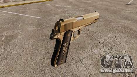 Colt M1911 pistol v2 for GTA 4 second screenshot