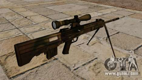 QBU-88 sniper rifle for GTA 4 second screenshot