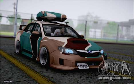 Subaru Impreza Arma for GTA San Andreas
