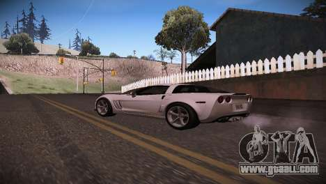 Chevrolet Corvette for GTA San Andreas left view