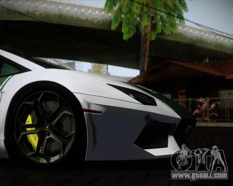 Lamborghini Aventador LP700-4 2012 RCPD V1.0 for GTA San Andreas upper view
