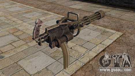 Minigun for GTA 4 second screenshot