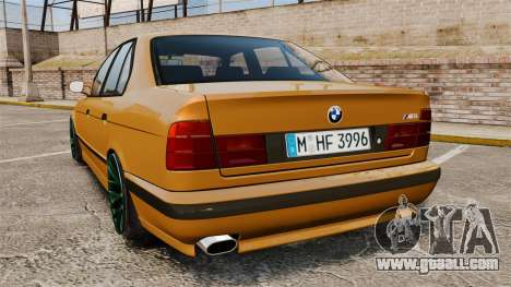 BMW M5 1995 for GTA 4 back left view