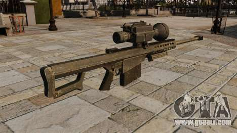 The Barrett M82 sniper rifle for GTA 4 second screenshot