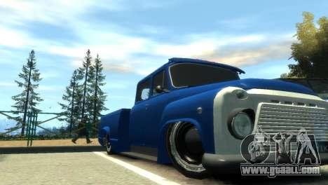 GAZ 53 for GTA 4 interior