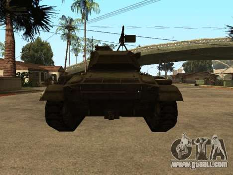 M24-Chaffee for GTA San Andreas right view