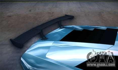 Lamborghini Murcielago GT Coloured for GTA San Andreas upper view