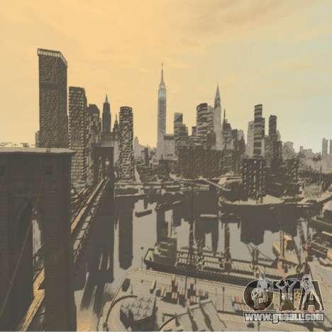 Color boot screen for GTA 4 forth screenshot