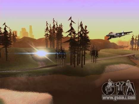 SA_RaptorX v2.0 for weak PC for GTA San Andreas forth screenshot