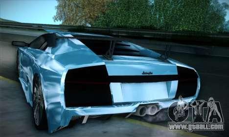 Lamborghini Murcielago GT Coloured for GTA San Andreas side view