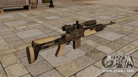 M14 sniper rifle for GTA 4 second screenshot