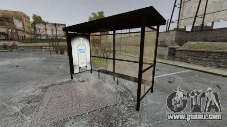 New advertising at bus stops for GTA 4 third screenshot